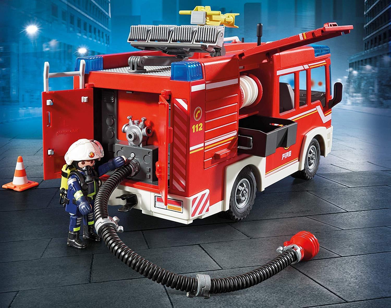 3,Playmobil 9464 - Camion pompieri cu dotari si lumini si sunet 2