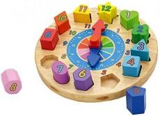 Ceasul Puzzle - Învaţă orele
