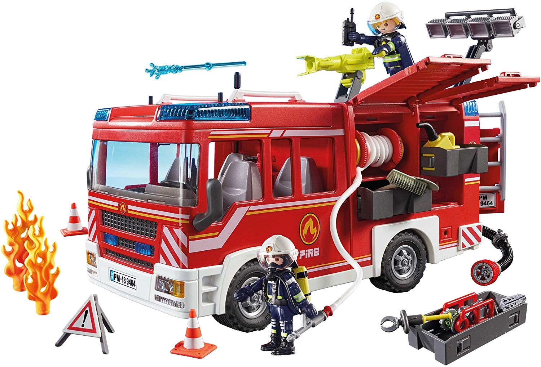Playmobil 9464 - Camion pompieri cu dotari si lumini si sunet 2