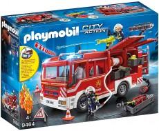 Camion De Pompieri cu dotări, lumini şi sunete - PLAYMOBIL City Action - PM9464