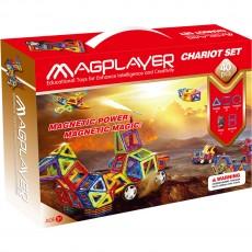 Construcţii magnetice - Chariot - set 40 piese