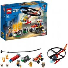 Interventie cu elicopterul de pompieri (60248) - LEGO City