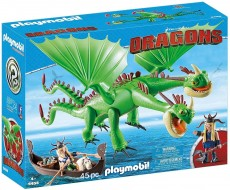 Gemenii dragon Barf Si Belch - PLAYMOBIL Dragons - PM9458
