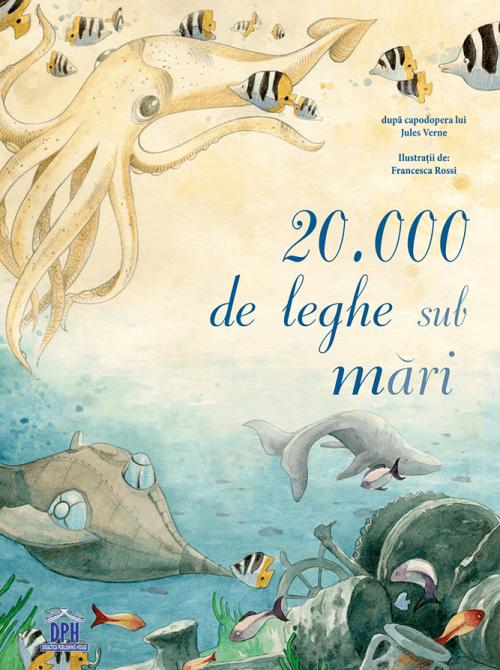 20 000 de leghe sub mari de Jules Vernes