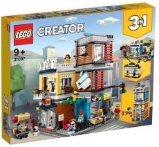Magazin de animale si cafenea (31097) - LEGO Creator