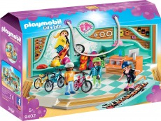 Magazin de biciclete si skatebord - PLAYMOBIL City Life - PM9402