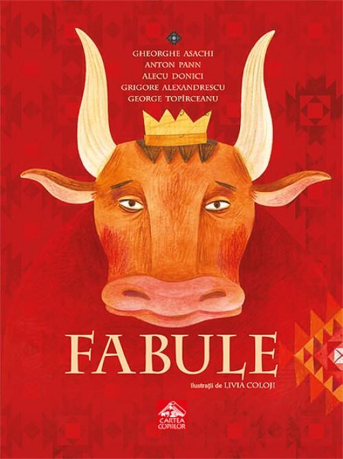 Fabule. Antologie ilustrată de Livia Coloji