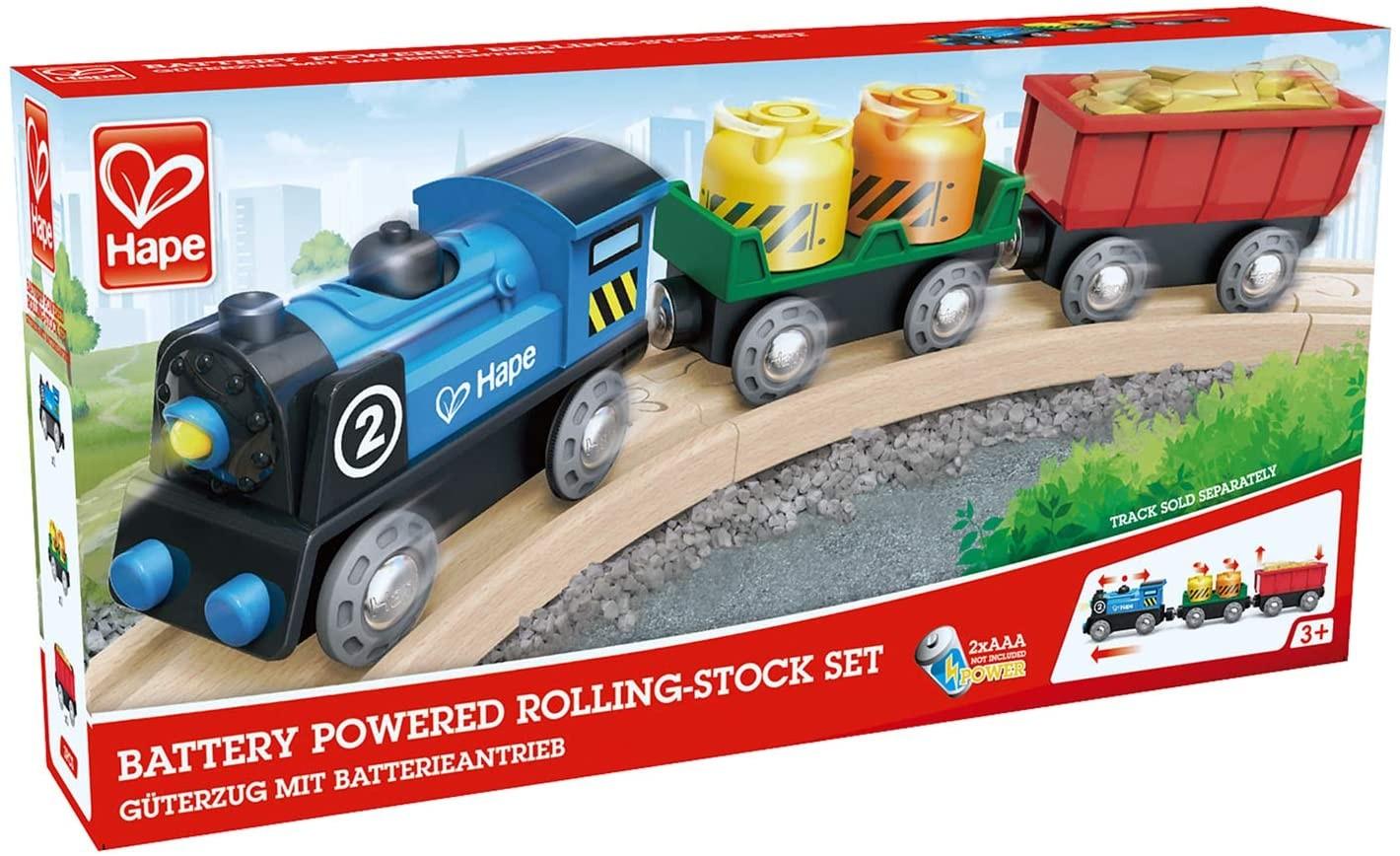 Hape Tren de marfa multicolor E3720_1