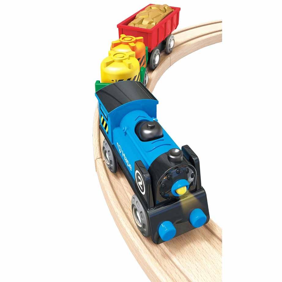 Hape Tren de marfa multicolor E3720_3
