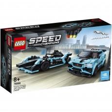 Formula Racing E Panasonic Jaguar Racing vs Jaguar I-PACE eTROPHY ( 76898 ) - LEGO Speed Champions