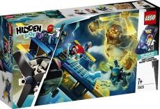 Avionul de cascadorii al lui El Fuego (70429) - LEGO Hidden Side