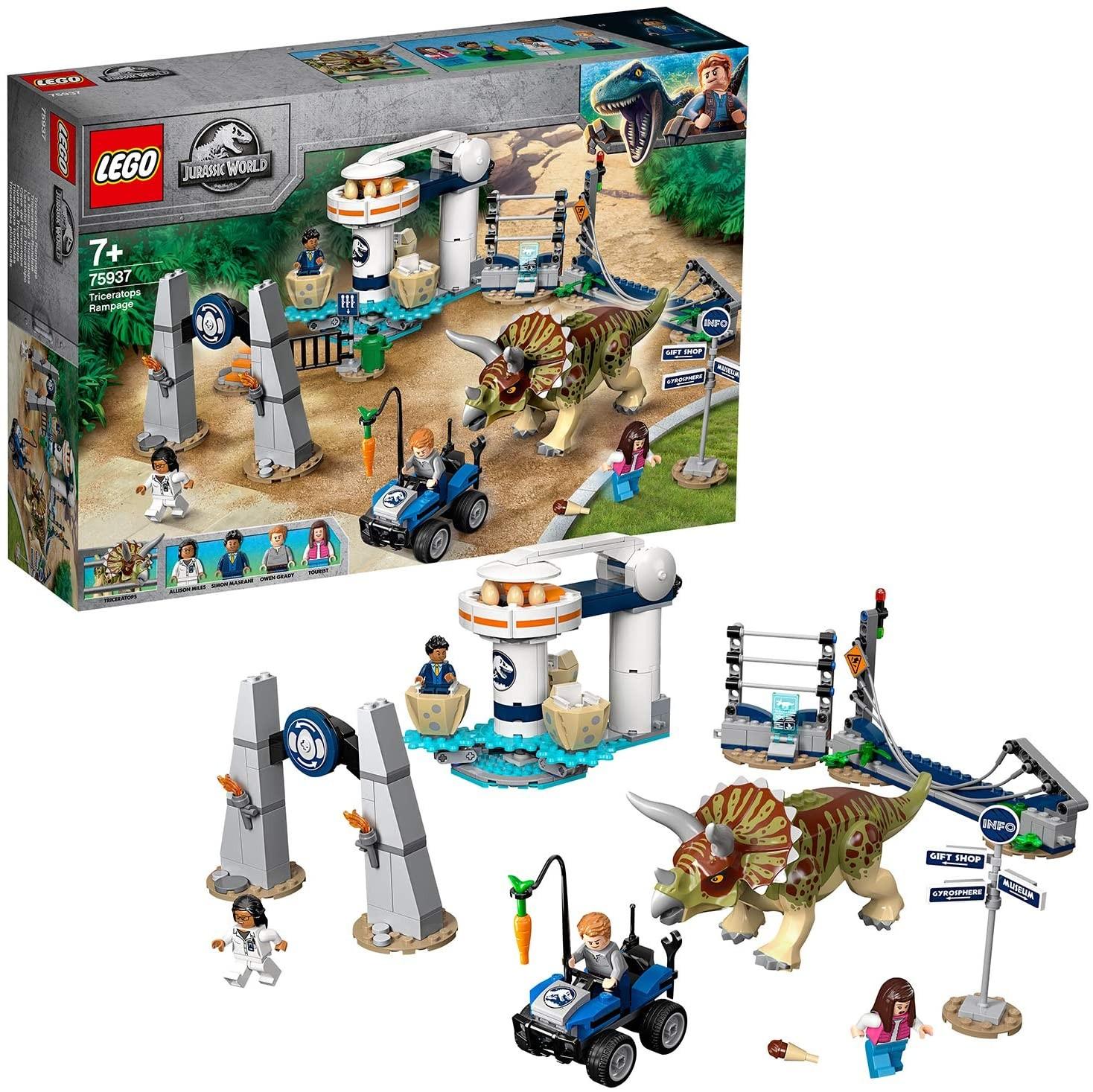 LEGO_Jurassic World_Triceratops_dezlantuit_Lego_75937_2