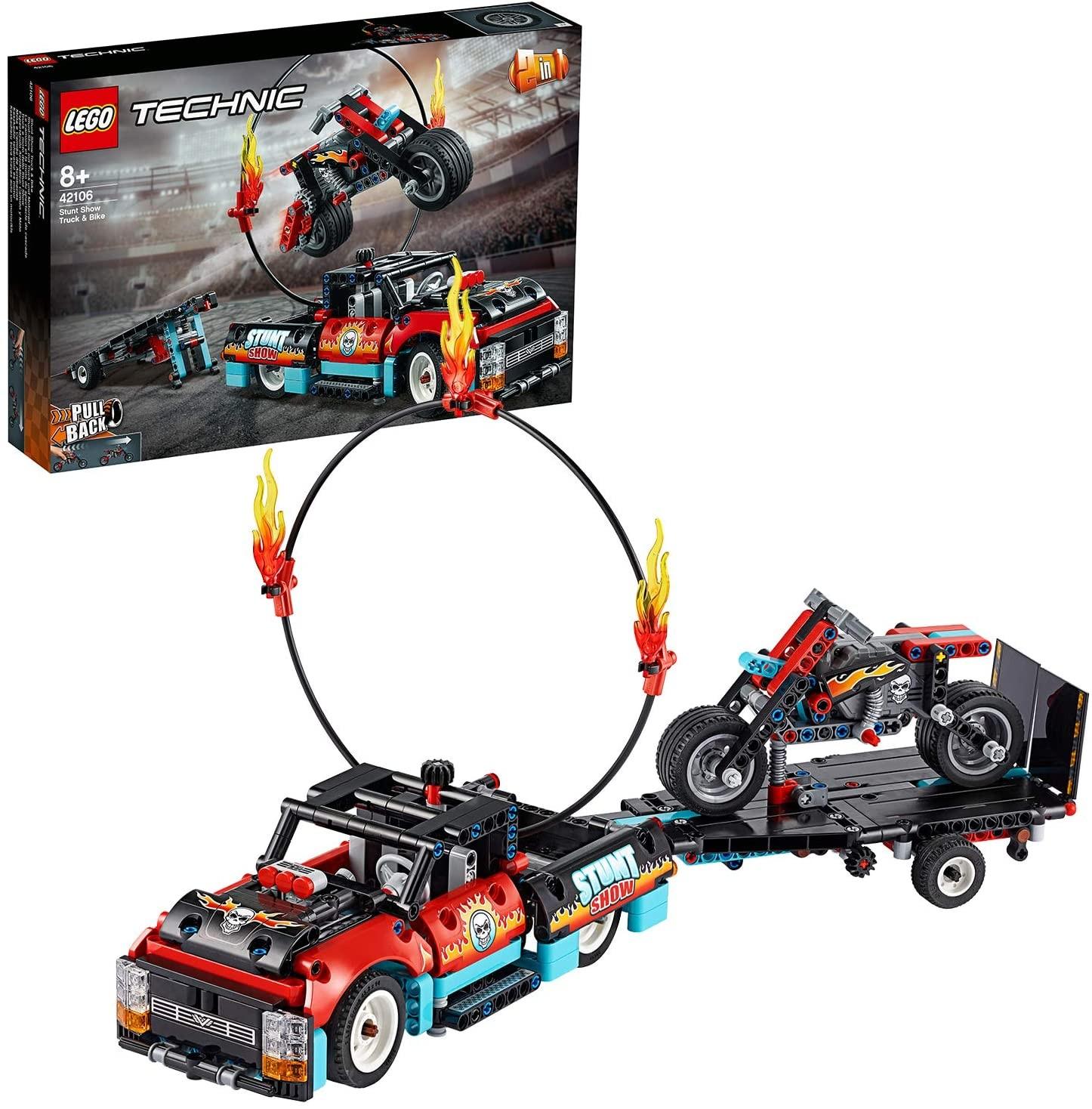 LEGO_Technic_Camion_si_motocicleta_pentru_cascadorii_LEGO_42106_2