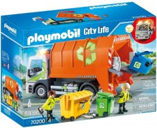 Camion de reciclat - PLAYMOBIL City - PM70200