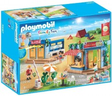 Set camping la plaja - PLAYMOBIL Family Fun - PM70087