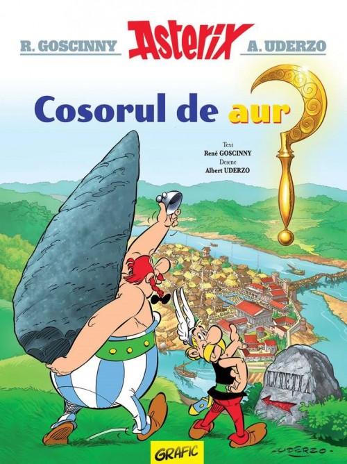 Asterix şi cosorul de aur (vol. 2) - René Goscinny, Albert Uderzo
