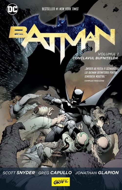 Batman. Conclavul bufnițelor - Scott Snyder,  Greg Capullo, Johnathan Glapion