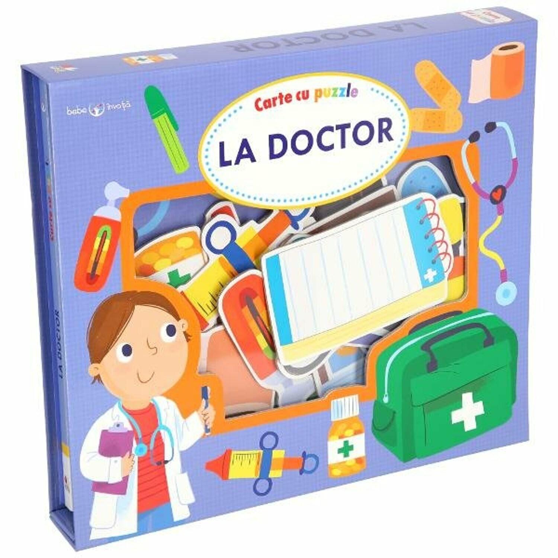 La doctor. Set educativ cu puzzle - Bebe învață - Editura Litera - 1
