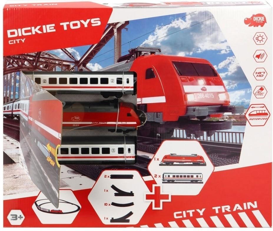Dickie Toys Set Tren cu lumini si sunete 1