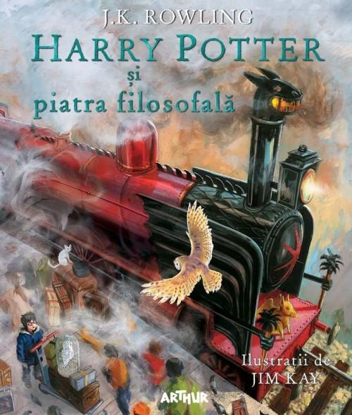 Harry Potter și piatra filosofală (ed. ilustrată) - J.K. Rowling, Jim Kay