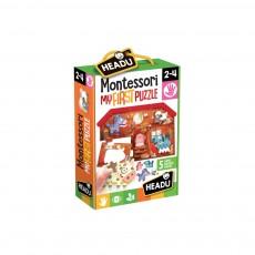 Montessori - Primul meu puzzle Ferma