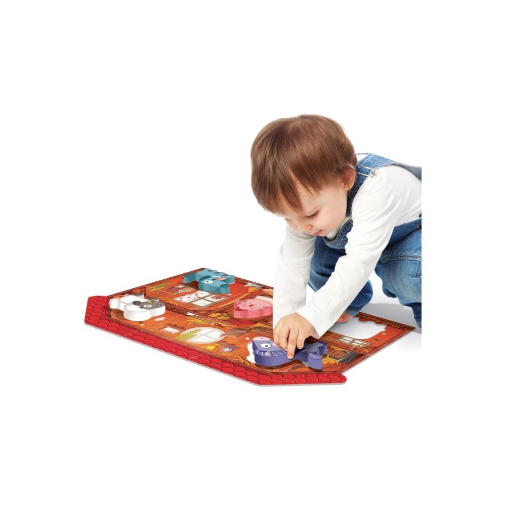 Montessori - Primul meu puzzle Ferma - Headu - 3