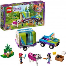 Remorca de transport cai a Miei (41371) - LEGO Friends