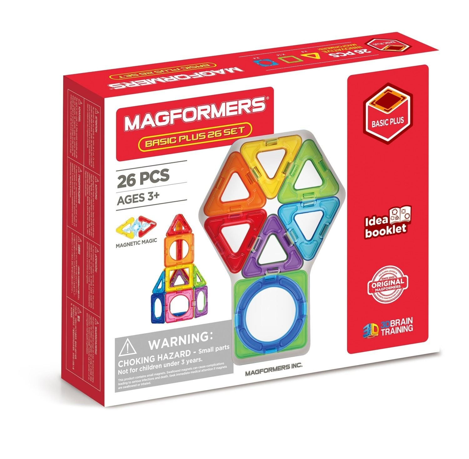 Magformers -Set magnetic de construit - Basic Plus 1