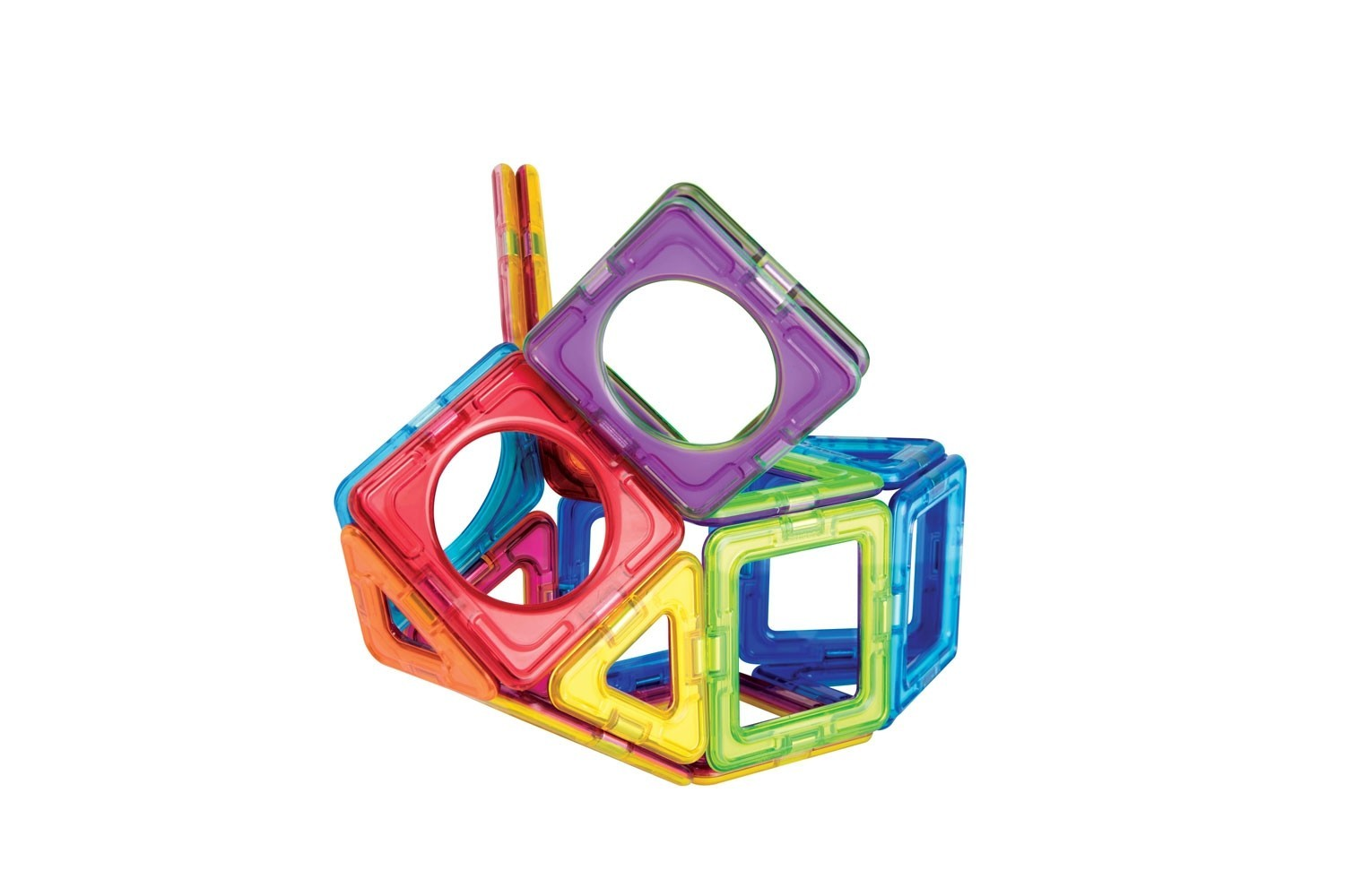 Magformers -Set magnetic de construit - Basic Plus 3
