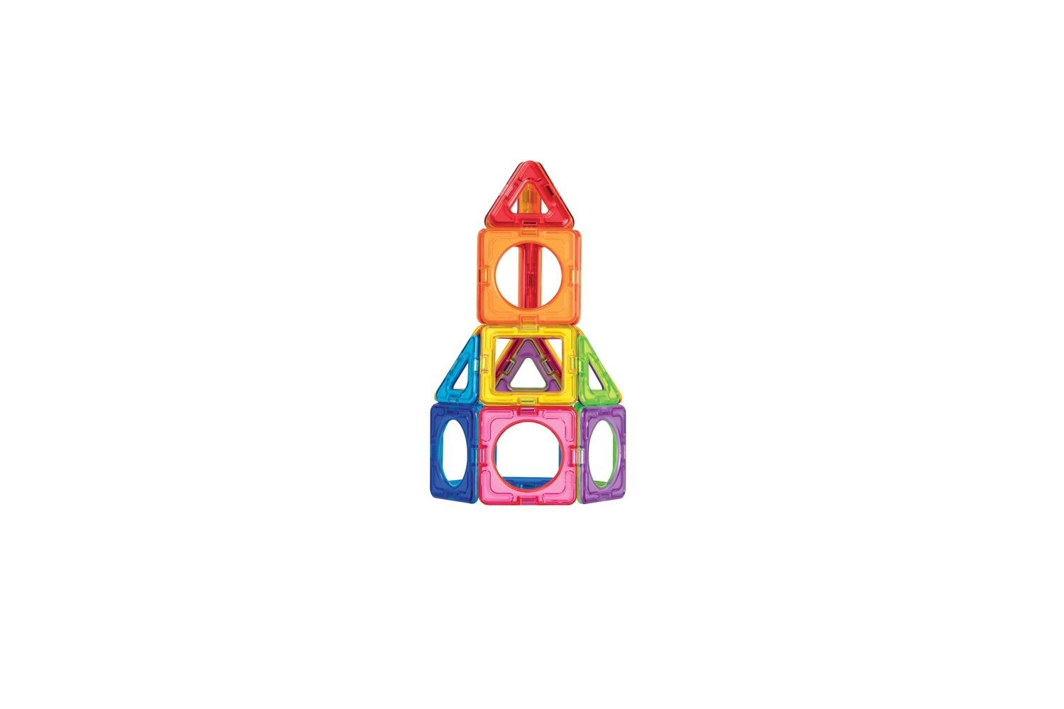 Magformers -Set magnetic de construit - Basic Plus 6
