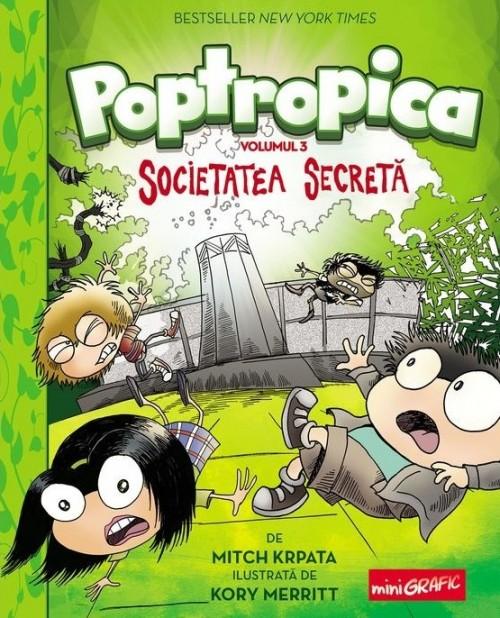 Poptropica. Societatea Secretă - Mitch Krpata, Korry Merritt