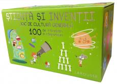 Știință și invenții. Joc de cultură generală. 100 de întrebări și răspunsuri - Larousse