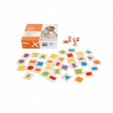 Lipiți formele – Joc pentru învăţarea formelor si a culorilor