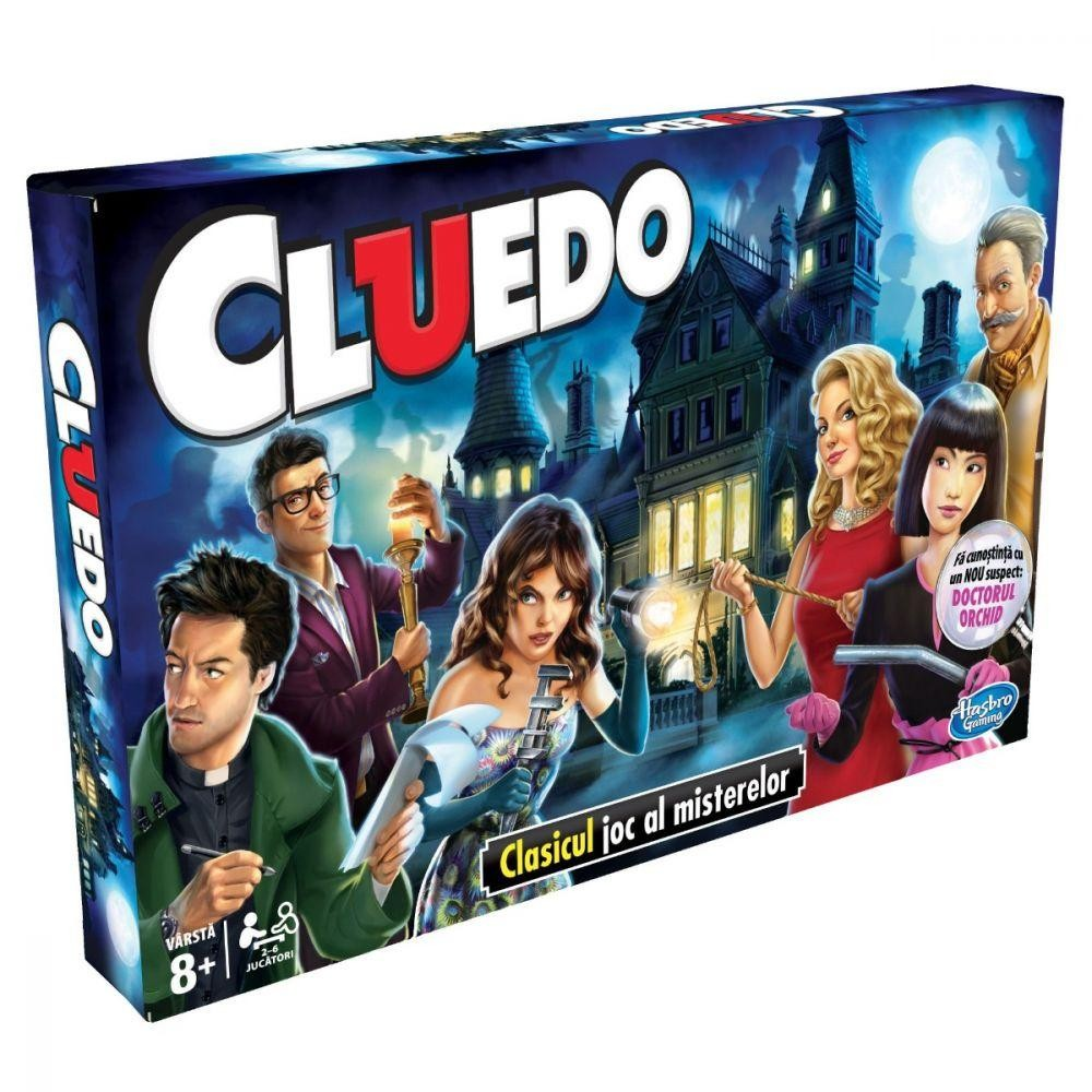 CLUEDO - Jocul misterelor - Hasbro - 38712 - 1