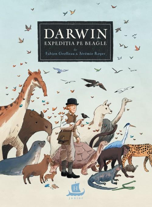 Darwin Expediția pe Beagle - Jérémie Royer, Fabien Grolleau