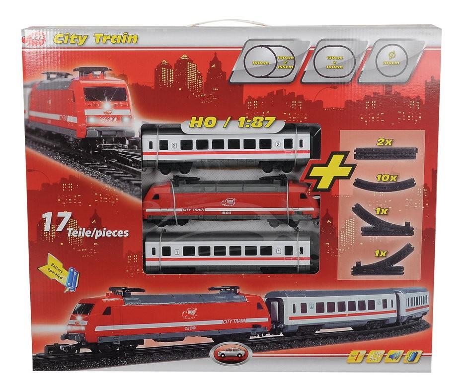 Dickie Toys Set Tren cu lumini si sunete 3