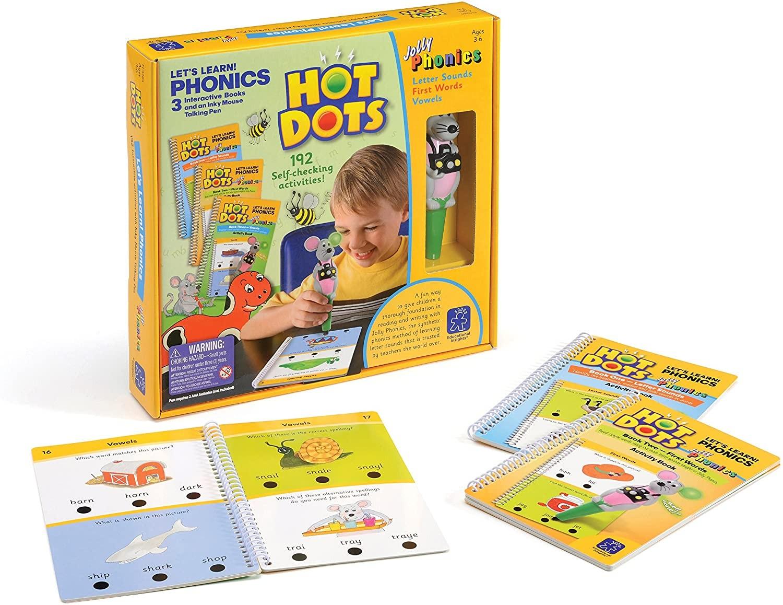 HOT DOTS - Fonetică - Educational Insights UK