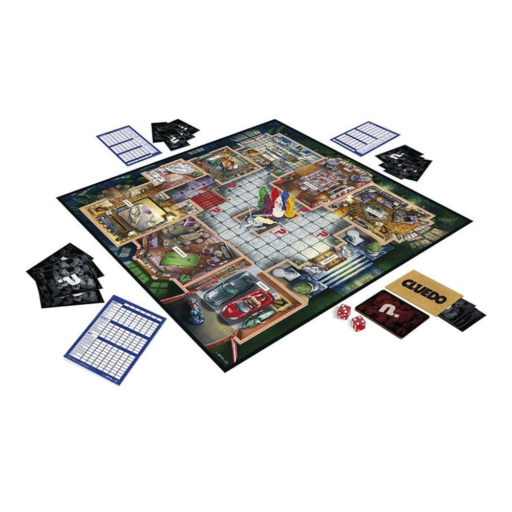 CLUEDO - Jocul misterelor - Hasbro - 38712 - 2