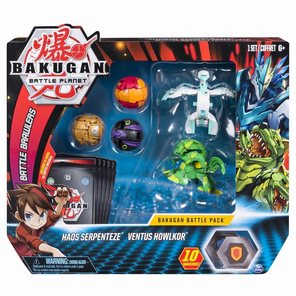 Set complet de lupta Bakugan 1