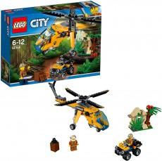 Elicopter de marfa in jungla (60158) - LEGO City