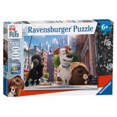 Puzzle Pets - Singuri acasă  - 100 piese