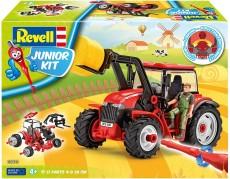 Revell Junior Kit - Tractor cu încărcător
