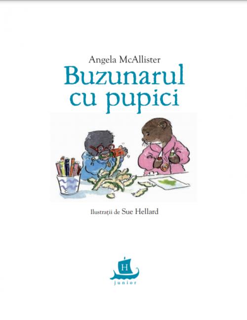 Buzunarul cu pupici - Angela McAllister, Sue Hellard