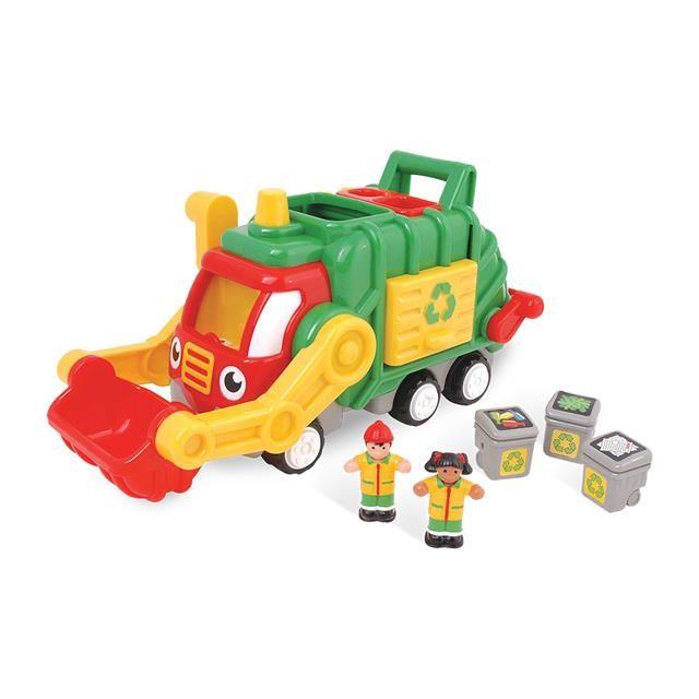 Fred - Mașina de gunoi - WOW  3