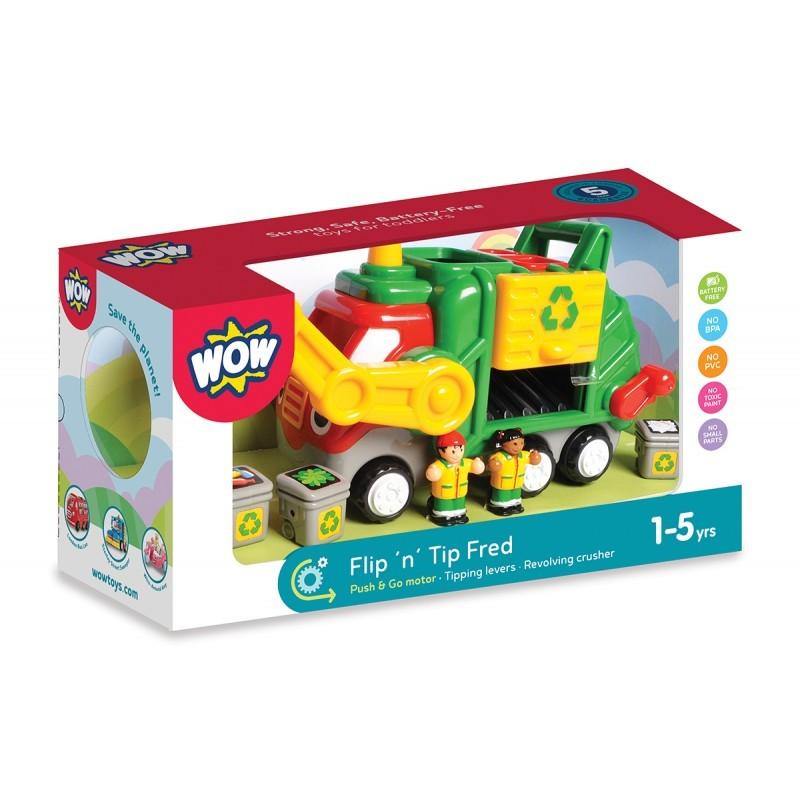Fred - Mașina de gunoi - WOW 1