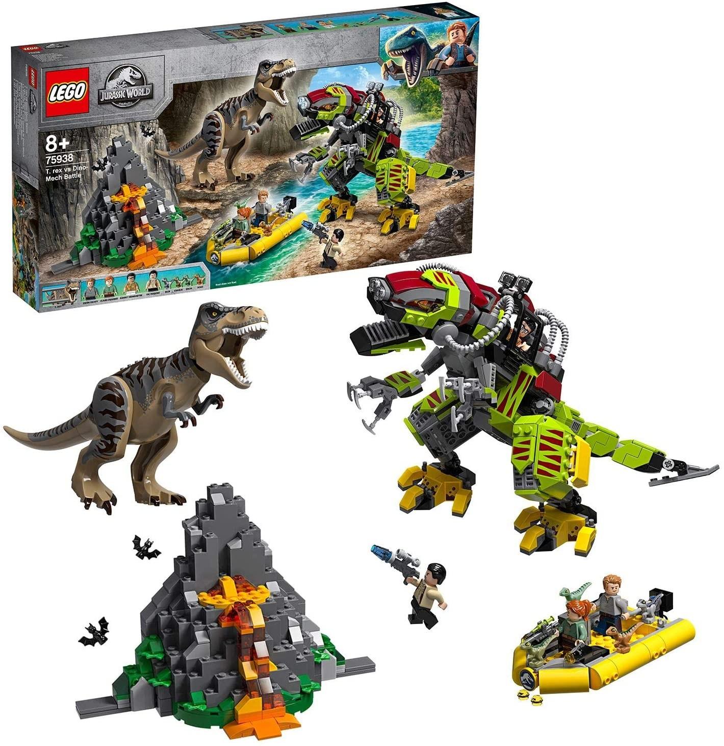 Lupta T. rex contra Dino-Mech (75938) - LEGO Jurassic World 1