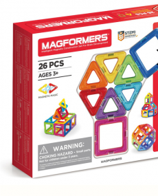 Magformers -Set magnetic de construit - Basic 26