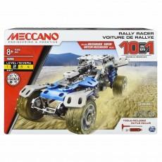 Meccano  Kit 10 in 1- Masina - Set asamblare metal