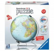 Puzzle 3D - Pământul - 550 de piese - Ravensburger