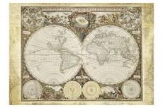Puzzle Harta istorică a lumii, 2000 piese